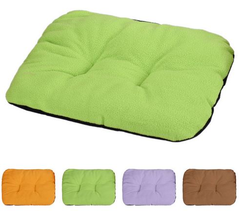 Colorful dog mat