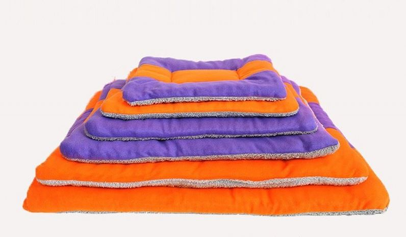 Orange-purple dog mat1
