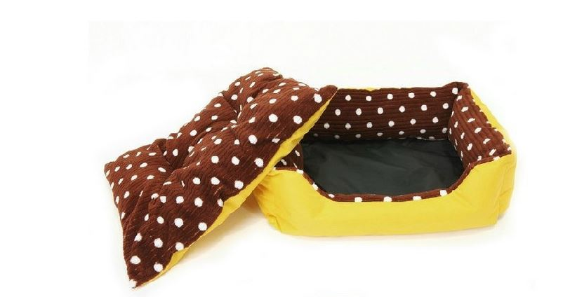 brown_polka_dot_dog_bed2