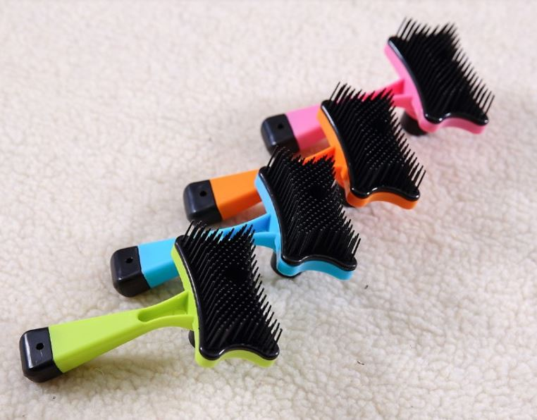 Colorful Dog Shedding Brush