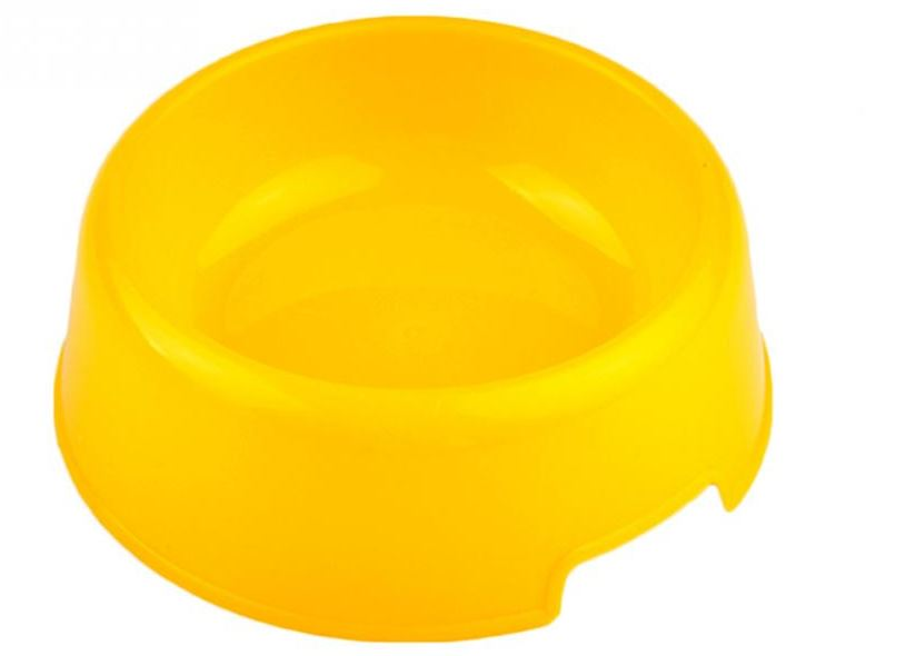 colorful_plastic_dog_bowl_yellow