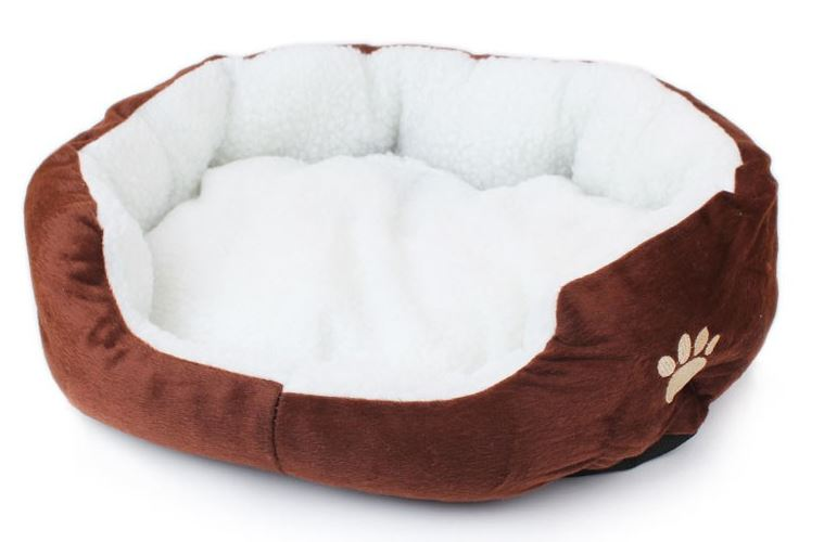colorful_warm_dog_bed_brown