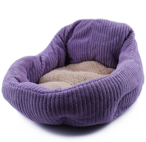 cute_and_soft_dog_bed_purple