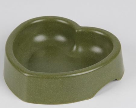 heart_shape_dog_bowl_dark_green