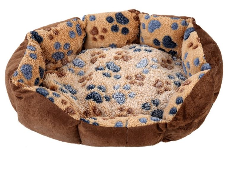 paw_printed_dog_bed