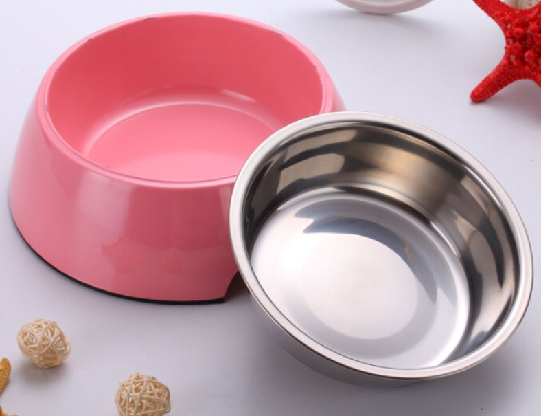 Pink 2 In1 Bowl