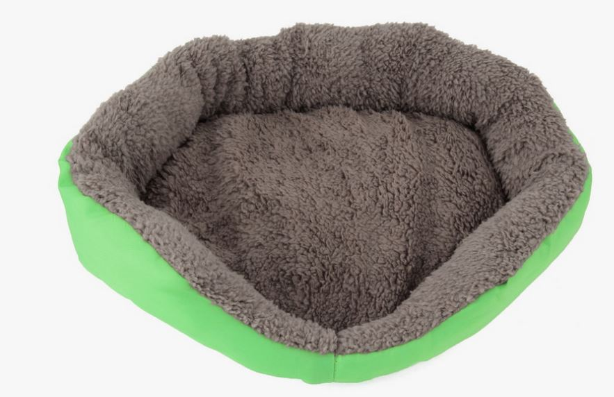 soft_and_warm_dog_bed_green
