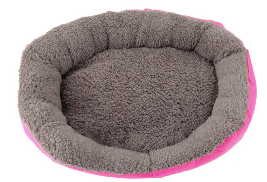 soft_and_warm_dog_bed_hot_pink