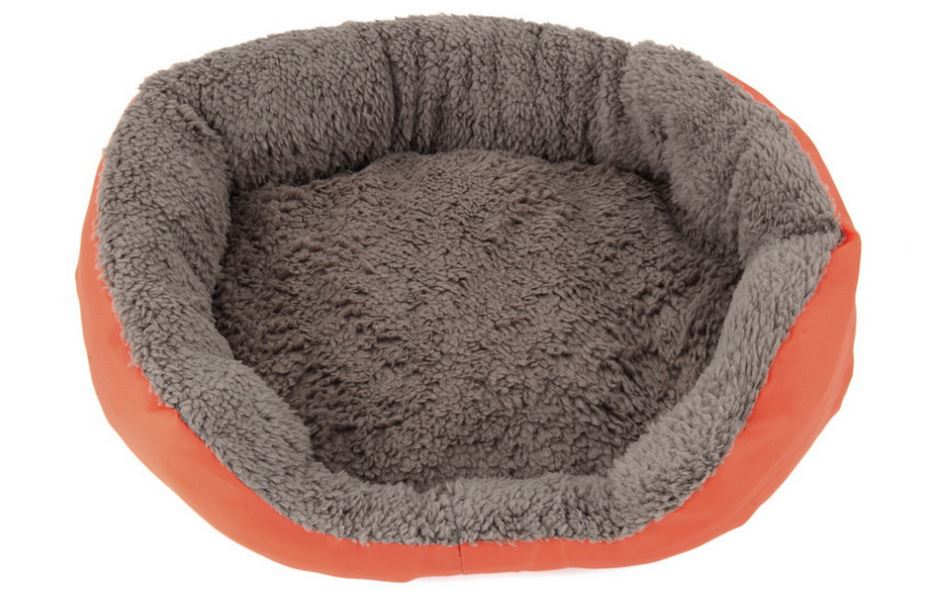 soft_and_warm_dog_bed_orange