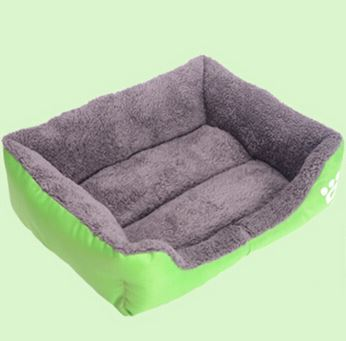 warm_and_soft_dog_bed_green