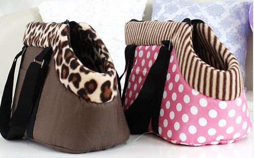 Polka_dot_or_leopard_printed_dog_carrier