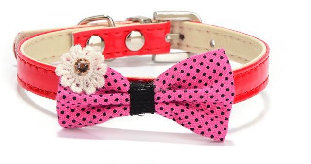 collar_with_bow_red