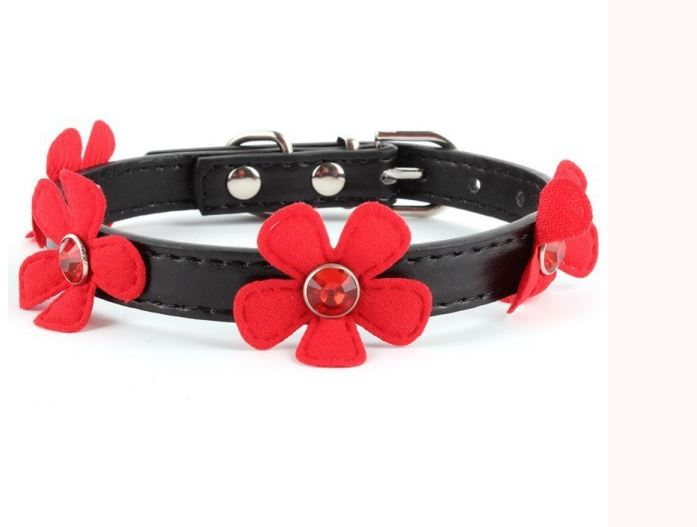 collar_with_flowers_black