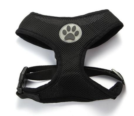 comfortable_dog_harness_black