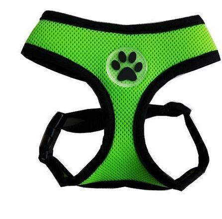 comfortable_dog_harness_green