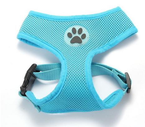 comfortable_dog_harness_light_blue