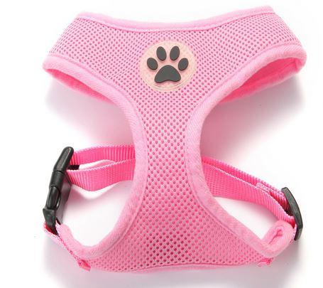 comfortable_dog_harness_light_pink