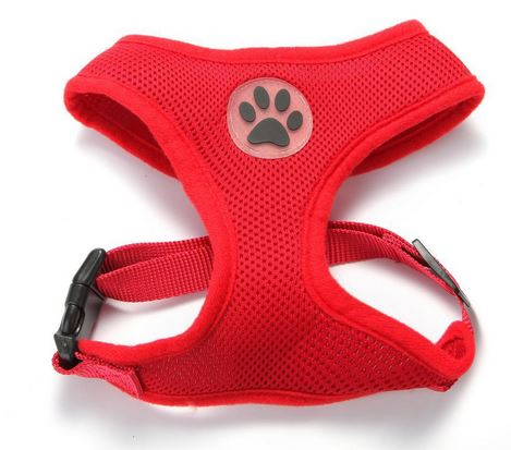 comfortable_dog_harness_red