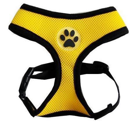 comfortable_dog_harness_yellow