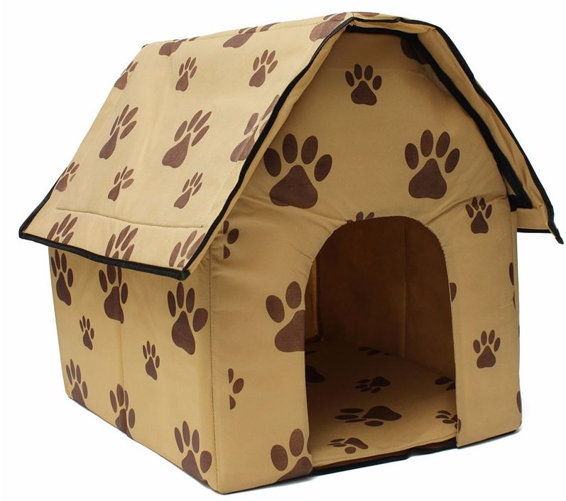 Light Brown Inside Dog House