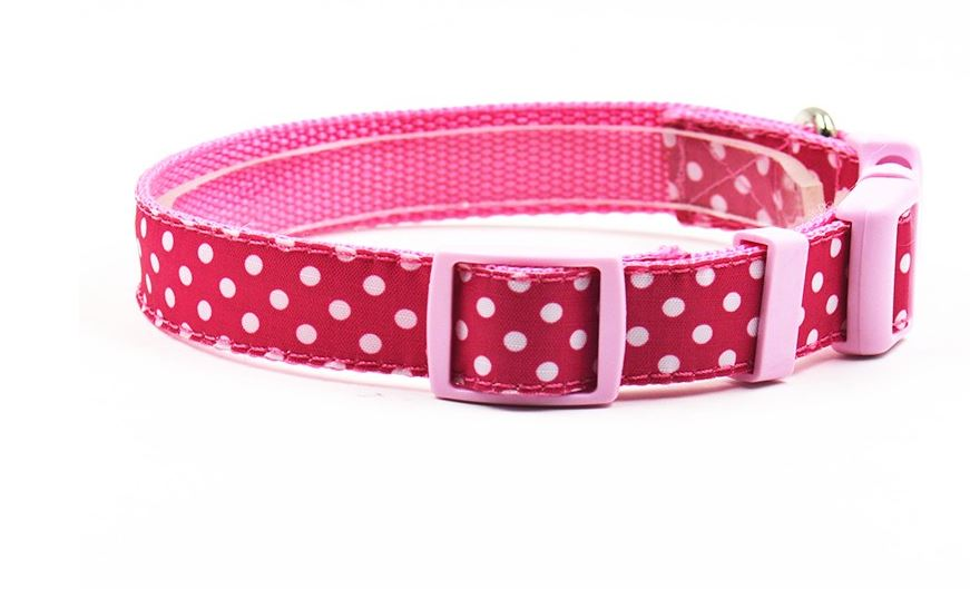lovely_polka_dot_collar_with_leash_pink3