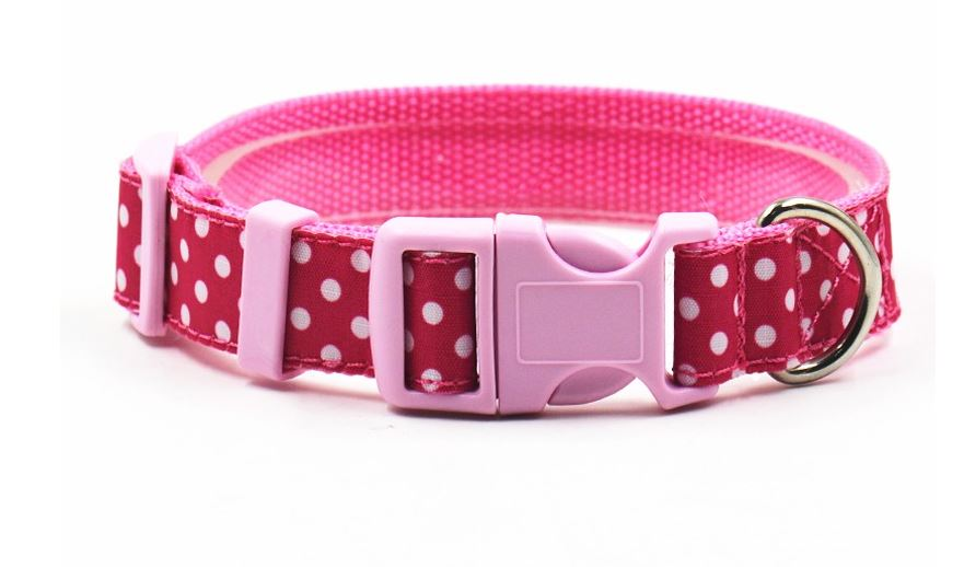 lovely_polka_dot_collar_with_leash_pink4