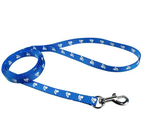 paw_prinred_dog_leash_blue