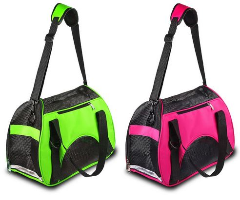 Pink Or Green Dog Carrier