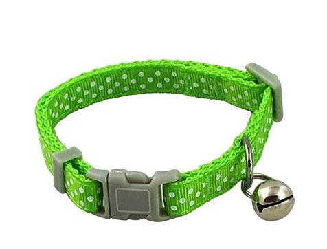 polka_dot_dog_collar_green