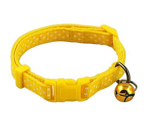 polka_dot_dog_collar_yellow