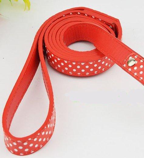 polka_dot_dog_leash_red