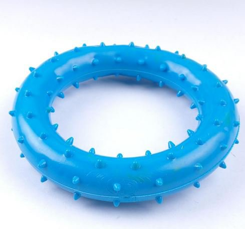 rubber_dog_toy_blue